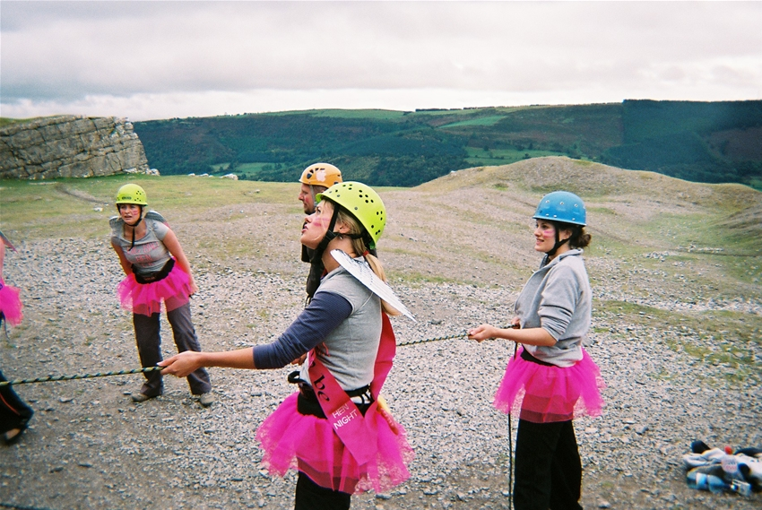 Hen Weekend Climbing