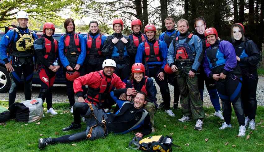 Team building in LLangollen