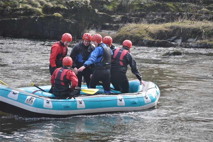 Stag Rafting