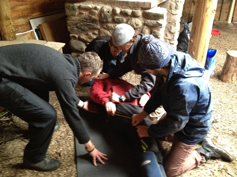 First Aid for Duke of Edinburgh