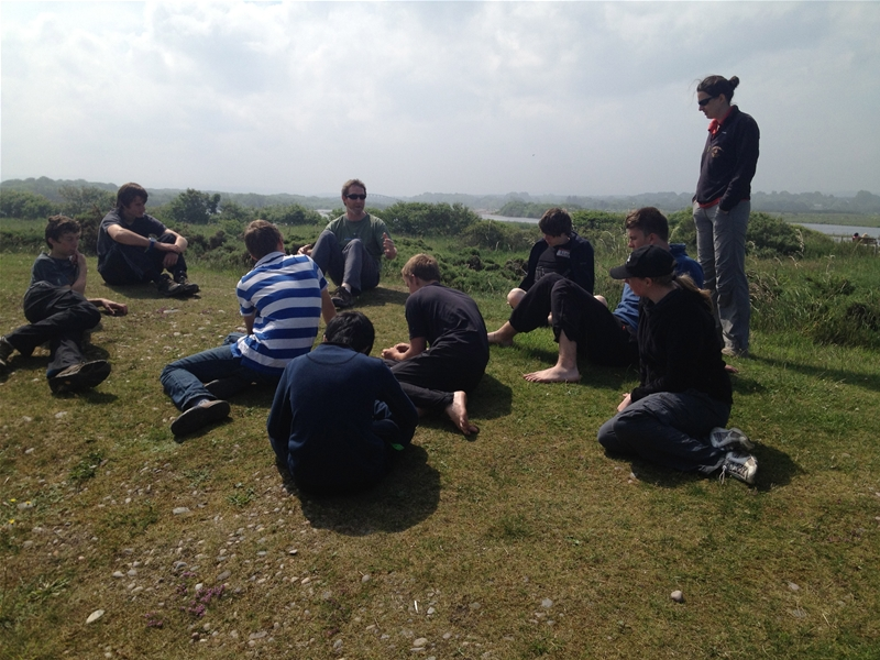 A Duke of Edinburgh silver expedition