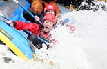 Hen Do whitewater rafting
