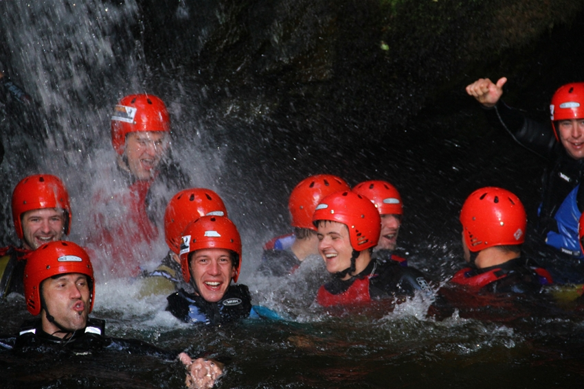Gorge Walking North Wales