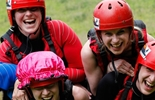 Hen Party Whitewater Rafting in LLangollen
