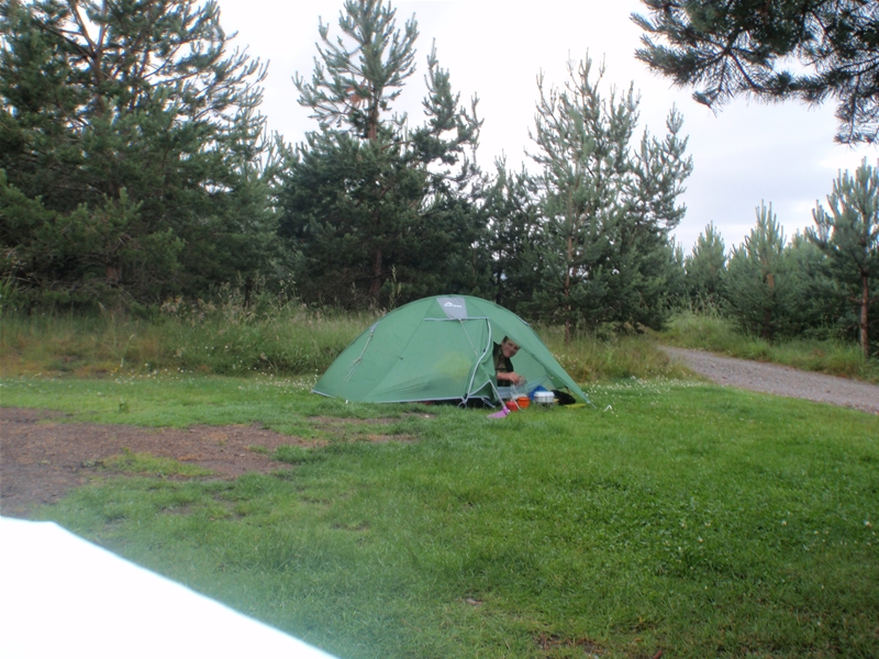 Camping on Duke of Edinburgh Bronze Award