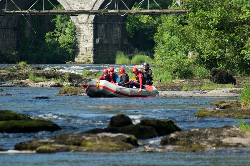 Rafting North Wales