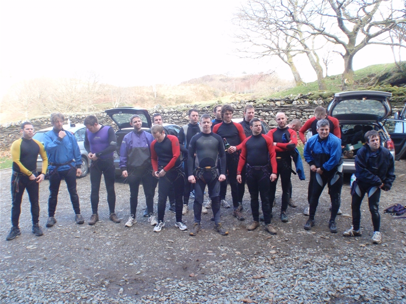 Stag Group canyoning