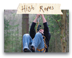 High Ropes - North Wales